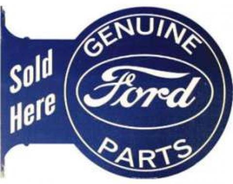 Sign, Wall Mount, Genuine Ford Parts