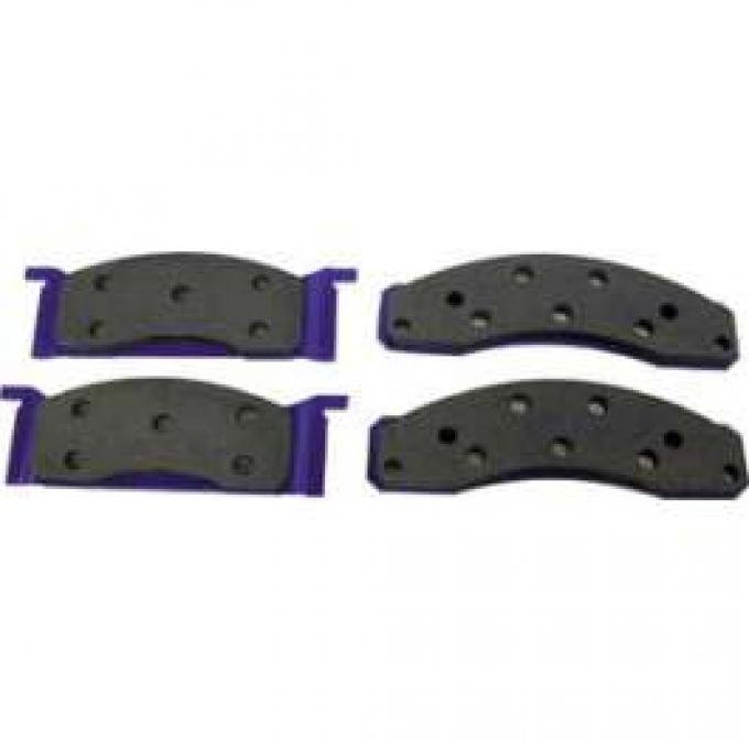 Disc Brake Pads, Front, Ford & Mercury, 1972-1979