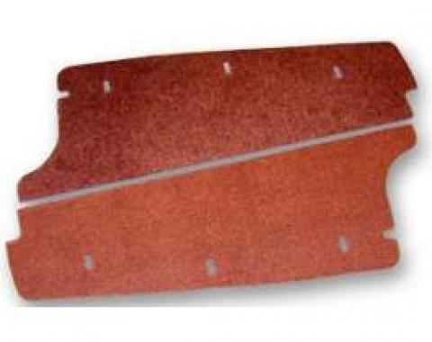 Trunk Side Filler Board - Masonite