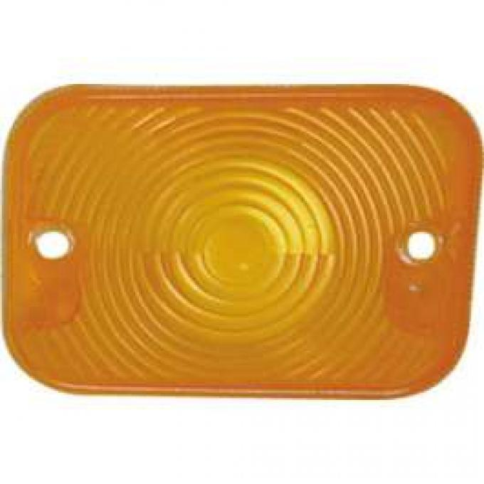 Parking Light Lens - Amber - Right