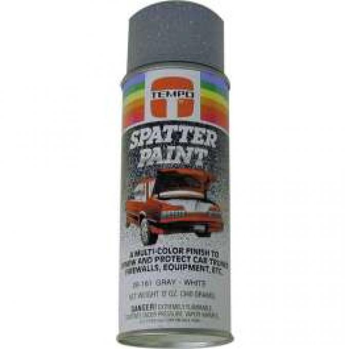 Spatter Paint, Gray