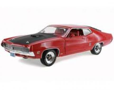 Torino Model, Fastback, GT, Red, 1:18 Scale, 1970