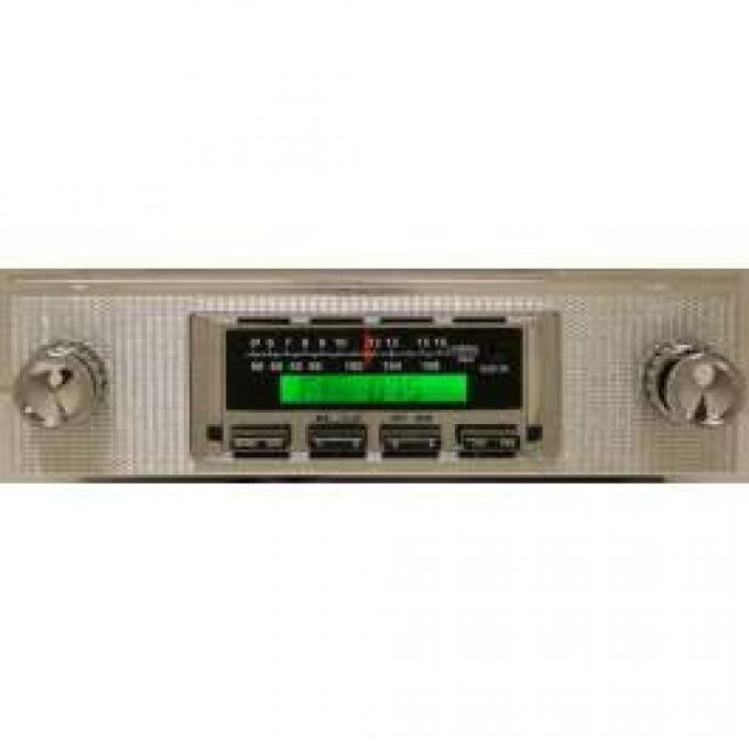 Stereo Radio,AM/FM/iPod,Fairlane/Ranchero,1958, Ken Harrison
