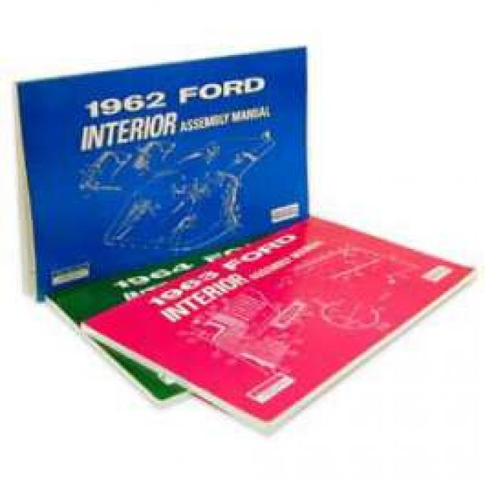 Ford Interior Trim Assembly Manual - 109 Pages