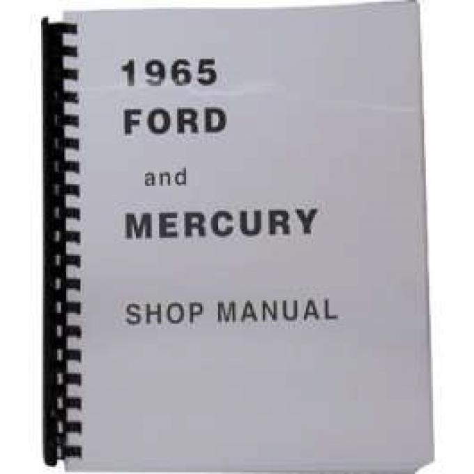 Full Size Ford and Mercury Shop Manual - 718 Pages