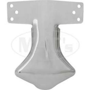 Exhaust Deflector - Stainless Steel - Plain