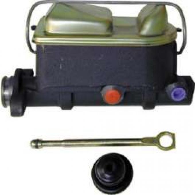 Master Cylinder, Manual Brakes, Remanufactured, Montego, Ranchero, Torino, 1972-1975
