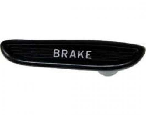 Emergency Brake Release Handle - Molded Black Plastic