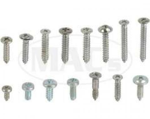 Interior Screw Kit, 4 Door, Fairlane, 1962-1963