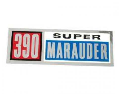 Valve Cover Decal - 390 Super Marauder
