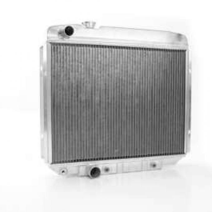 62/65 FAIRLANE ALUMINUM GRIFFIN RADIATOR MANUAL TRANS - V-8