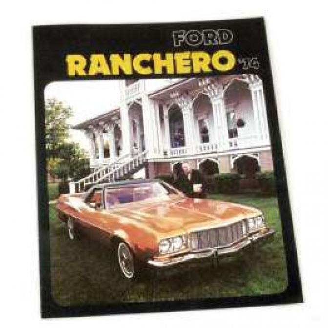 Sales Brochure, Ranchero, 1974