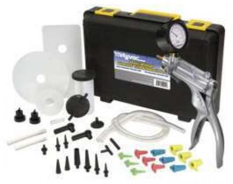 Brake Bleeder, Heavy-Duty Metal, With Case