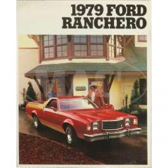 Sales Brochure, Ranchero, 1979