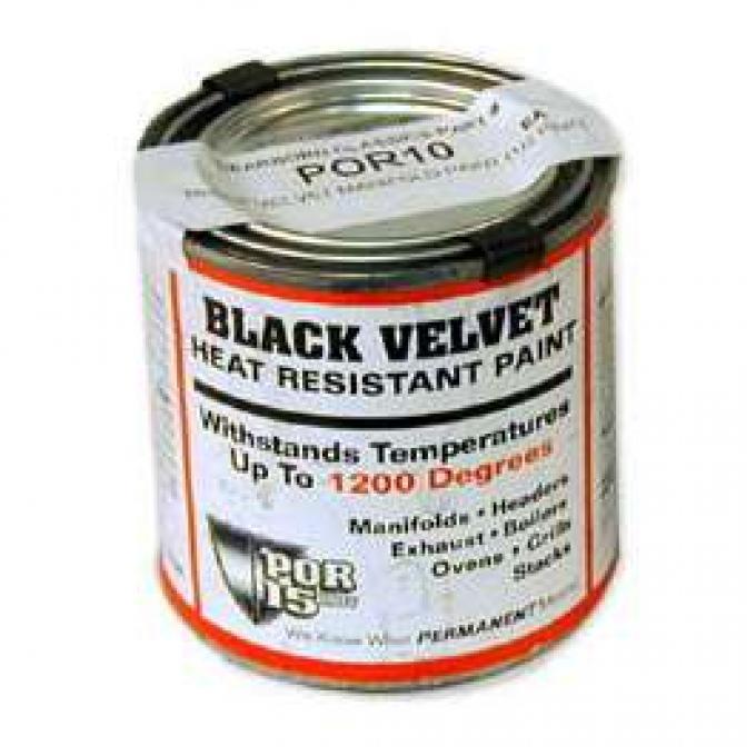 Black Velvet Manifold Paint (1/2 Pint)