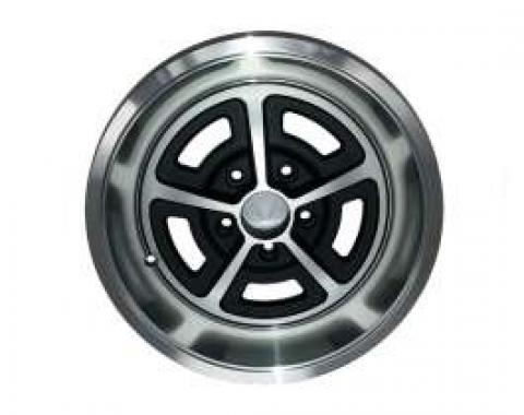 Ford Magnum 500 Modified Wheel, Brushed Aluminum, Each, 1955-1979