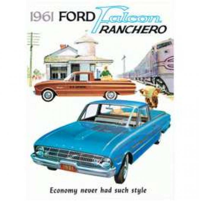 Falcon & Ranchero Sales Brochure