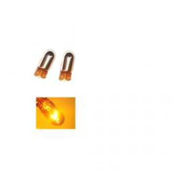 Light Bulbs, 194, Chrome X5 Lightning Amber Silver Stealth