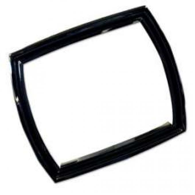 Tail Light Bezel - Chromed Die Cast With Black Painted Accents