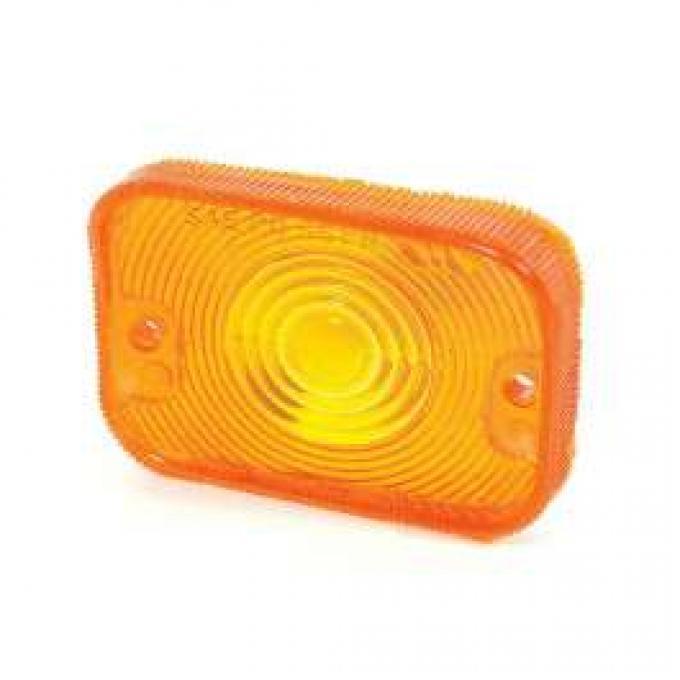 Parking Light Lens - Amber - Left