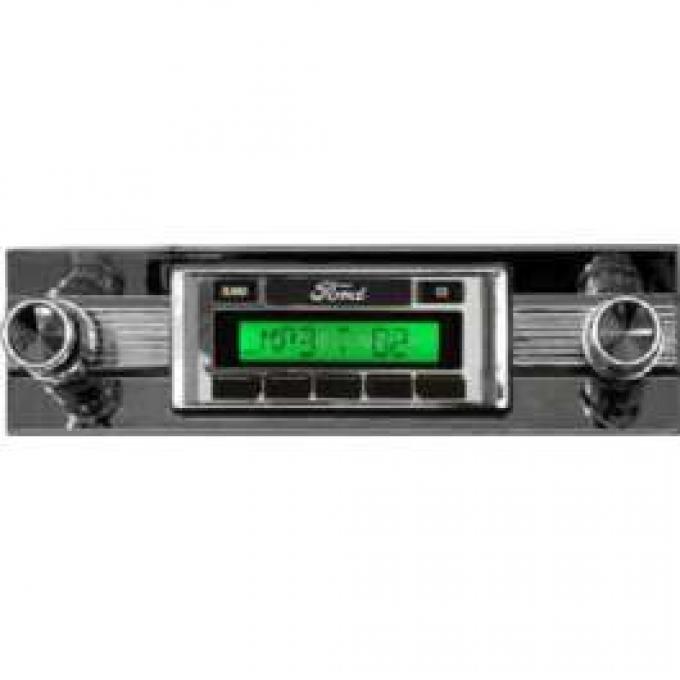 Torino Stereo Radio AM/FM, USA630, Custom Autosound,1968-1969