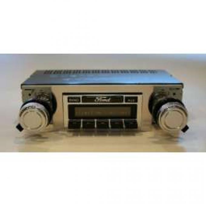 Torino Stereo Radio, AM/FM, USA-230, Custom Autosound, 1968-1969