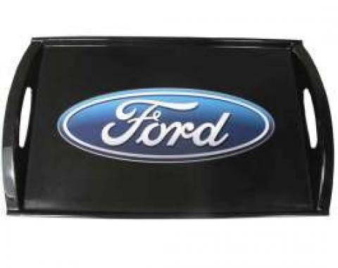 Ford Serving Tray,Blue Oval Logo