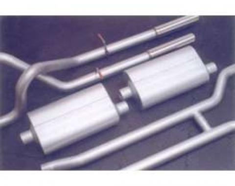 Dual Exhaust Kit, Flowmaster, Fairlane, 1966-1967