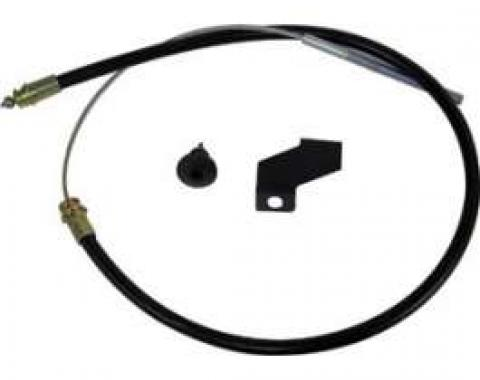 Emergency Brake Cable - Rear - 91 Long