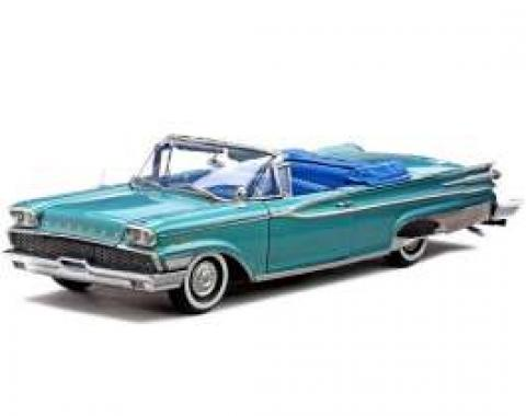 Parklane Model, Convertible, Turquoise, 1:18 Scale, 1959