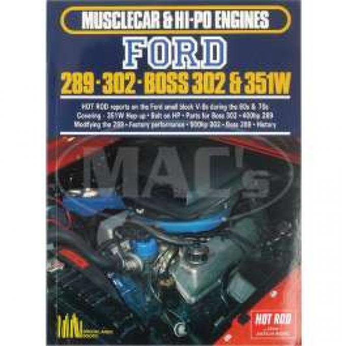 Musclecar And Hi-Po Engines, 289, 302, Boss 302, 351W