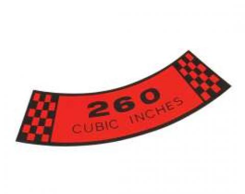 Air Cleaner Decal - 260