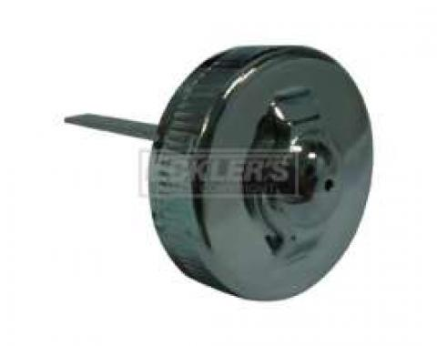 Power Steering Pump Cap - Chrome Plated - For Eaton Pump