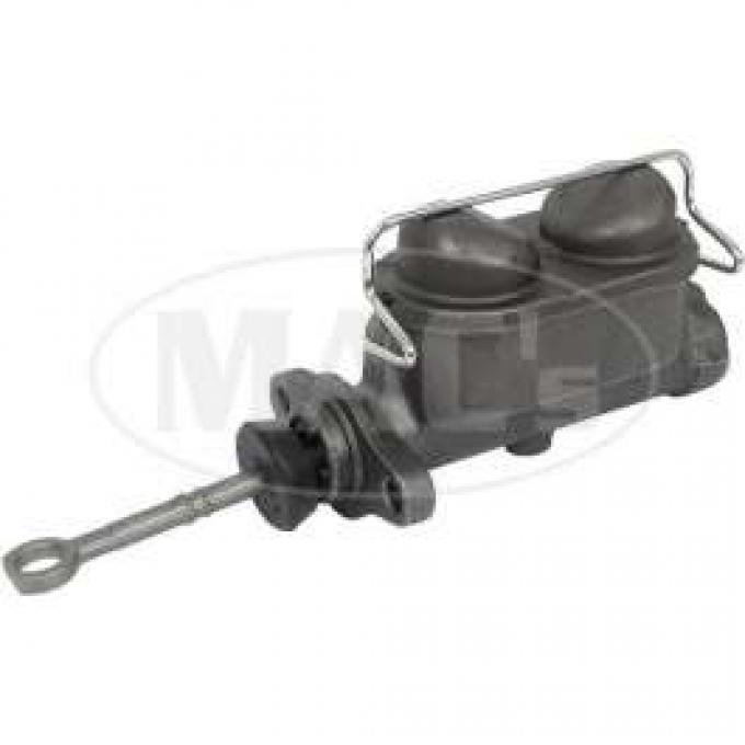 Master Cylinder, Manual Brakes, Remanufactured, Cougar, Galaxie, Mustang, Full-Size Mercury, 1967-1971