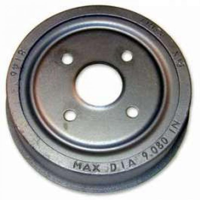 Brake Drum, Rear, 11 1/32 X 2 1/4 Inches, Montego, Ranchero, Torino, 1969-1975