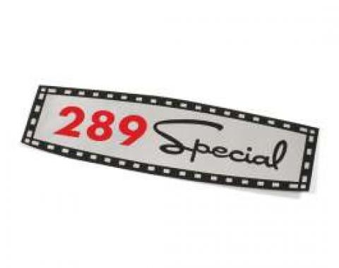 Decal - Valve Cover - 289 Special