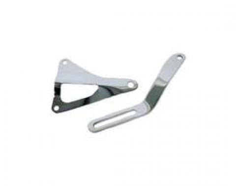 Alternator Bracket Set - Chrome - 289 Or 302 V8