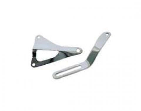 Alternator Bracket Set - Chrome - 289 Or 302 V8