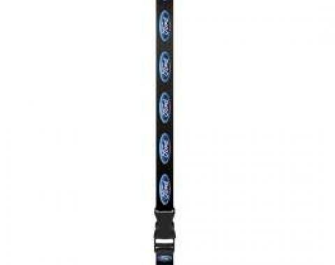 Ford Lanyard,Key Or Badge Holder,With Ford Blue Oval Logo