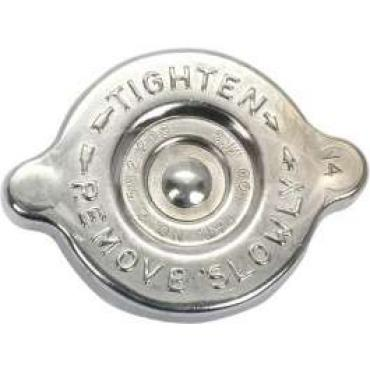 62/67 Chrome Radiator Cap (14 Lbs)