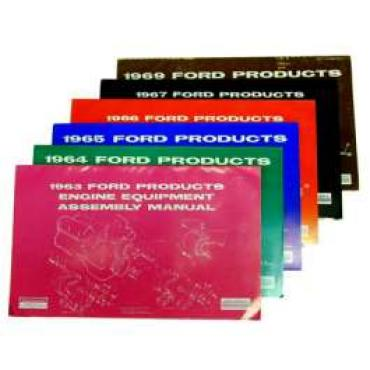 Ford Products Engine Equipment Assembly Manual - 46 Pages
