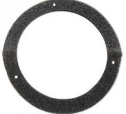Gaskets - Vent Air Inlet Duct To Cowl - Black Foam Rubber