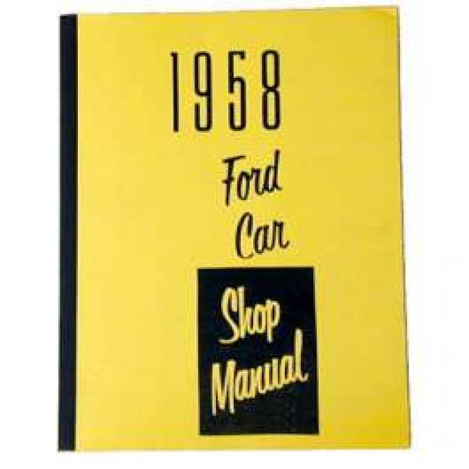 1958 Ford Shop Manual