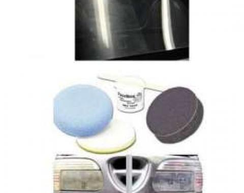 Clear Plastic & Headlight Restoration Kit