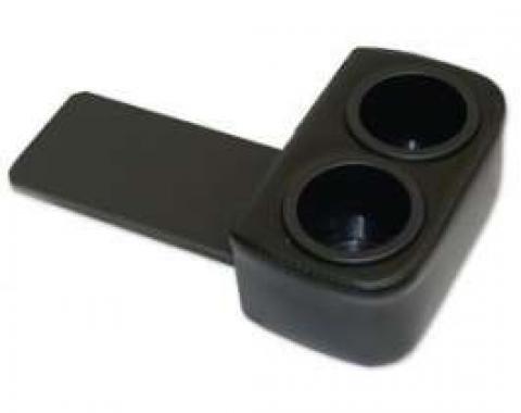Ford Mustang Plug and Chug Drink Holder - Black