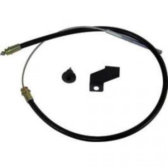 Rear Emergency Brake Cable - 80-3/8