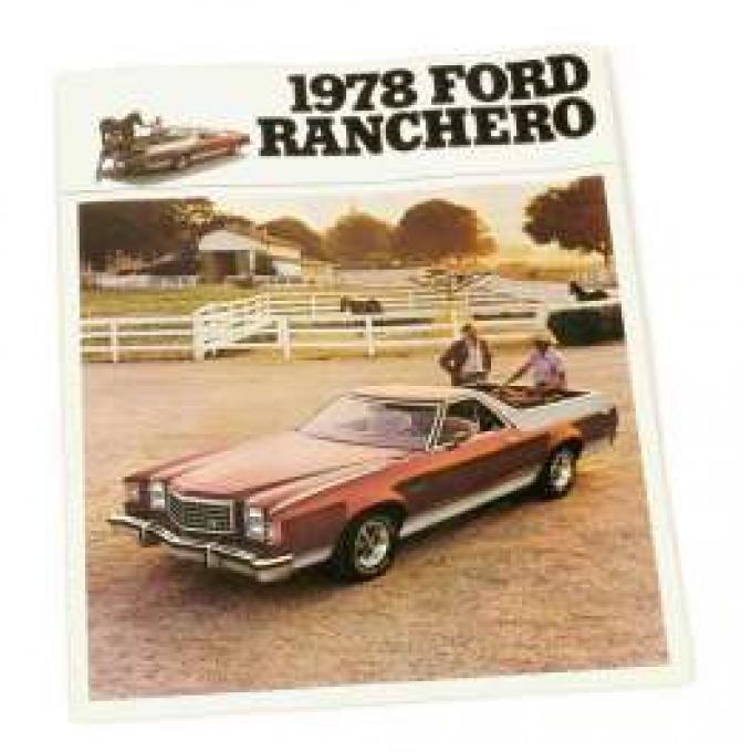 Sales Brochure, Ranchero, 1978