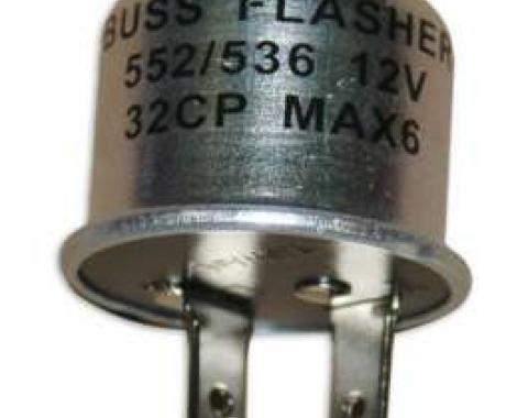 Turn Signal/Emergency Flasher - # 536/552 - 2 Prong Type - 12 Volt