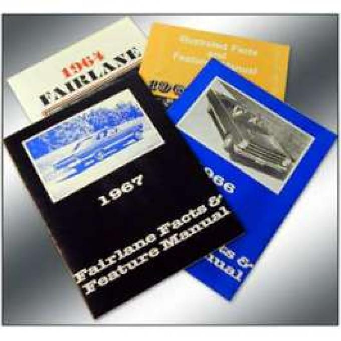Fairlane Illustrated Facts and Features Manual - 28 Pages