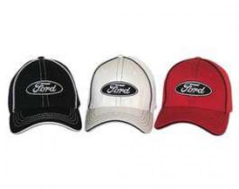 Hat, Ford Oval Logo, Flex Fit, SM/MD
